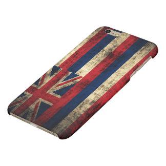 Grunge Hawaii Flag Matte iPhone 6 Plus Case