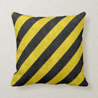 Grunge Hazard Pillows
