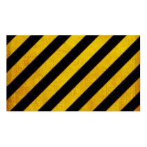 hazard, stripe, vintage, caution, customize, pattern, urban, background, cool, business card, custom, dirty, danger, zone, construction, original, business, card, Business Card with custom graphic design