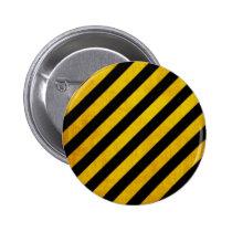 hazard, stripe, vintage, caution, customize, pattern, urban, background, cool, custom, dirty, danger, zone, construction, original, button, Button with custom graphic design