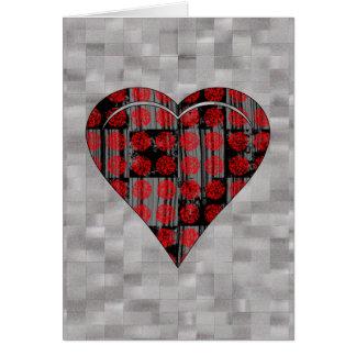 GRUNGE HEART CARDS