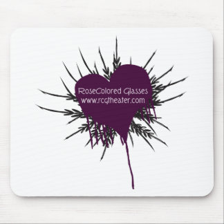Grunge Heart Collection Mouse Pad