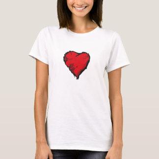 Grunge Heart T-Shirt