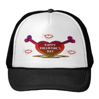 Grunge Hearts Trucker Hat