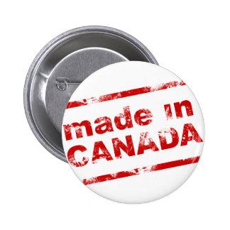Grunge hecho en Canadá - blanco Pins