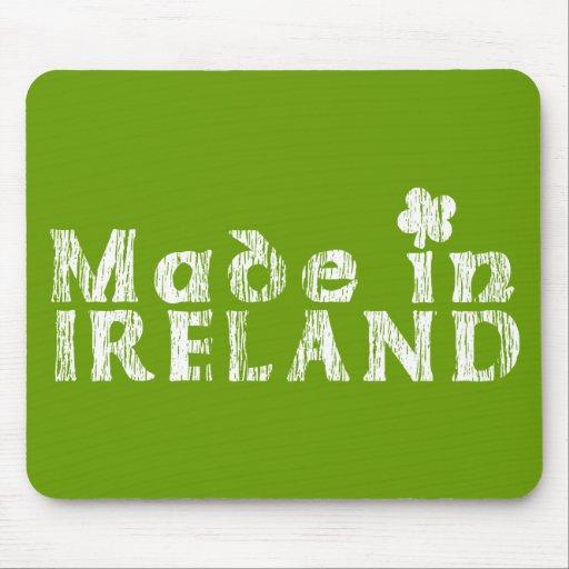 Grunge hecho en Irlanda Mouse Pads