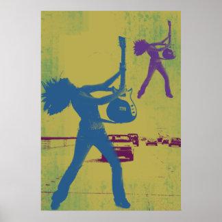 Grunge Highway Poster