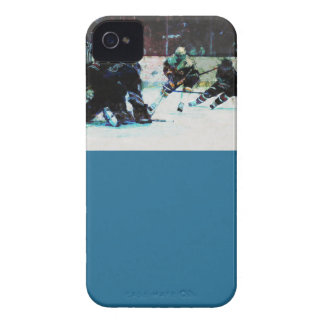 Grunge Hockey Match iPhone 4 Case