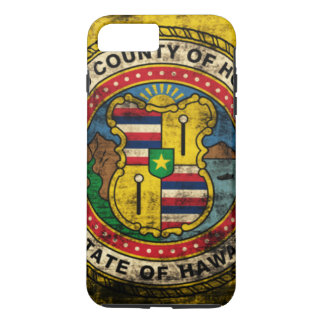 Grunge Honolulu Hawaii Flag iPhone 8 Plus/7 Plus Case