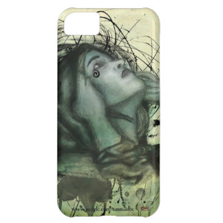 Grunge Hood Portrait Cover For iPhone 5C