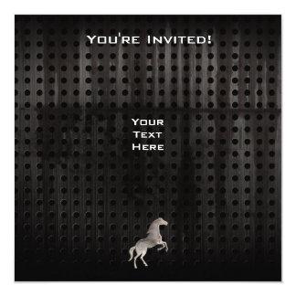Grunge Horse Card