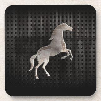 Grunge Horse Beverage Coasters