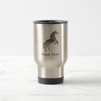Grunge Horse Travel Mug