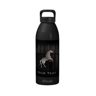 Grunge Horse Water Bottle
