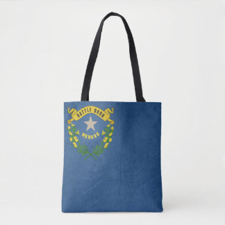 Grunge illustration of Nevada state flag Tote Bag