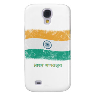 Grunge India Flag Galaxy S4 Covers