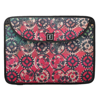Grunge industrial pattern sleeve for MacBook pro