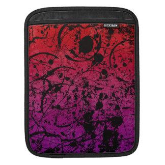 Grunge ink Paint Rickshaw iPad Sleeve
