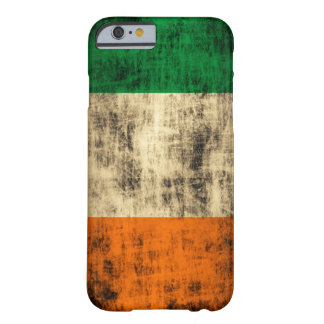 Grunge Irish Flag Barely There iPhone 6 Case