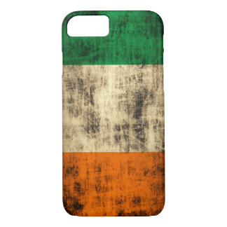 Grunge Irish Flag iPhone 7 Case