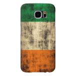 Grunge Irish Flag Samsung Galaxy S6 Cases