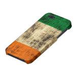 Grunge irlandés de la bandera iPhone 5 fundas