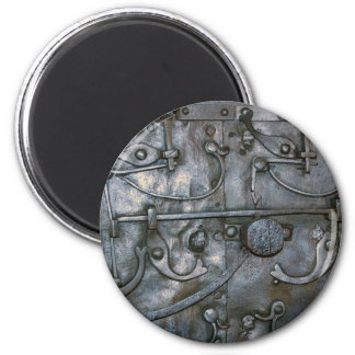 Grunge Iron Heavy Metal Magnet