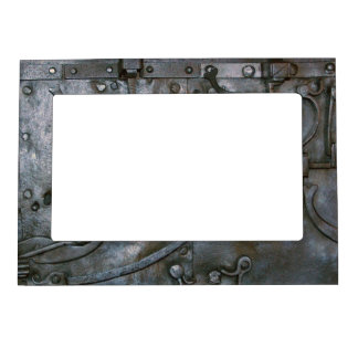 Grunge Iron Heavy Metal Magnetic Frame