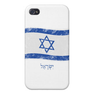 Grunge Israel Flag iPhone 4/4S Case