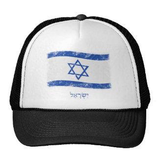 Grunge Israel Flag Trucker Hat