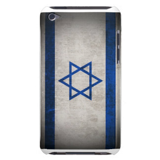 Grunge Israeli Flag (barely show) Case-Mate iPod Touch Case