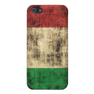 Grunge Italian Flag Case For iPhone SE/5/5s