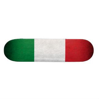 Grunge Italian Flag Skateboard Deck