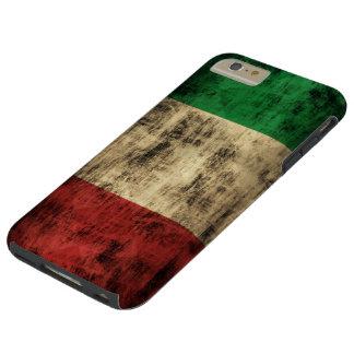Grunge italiano del vintage de la bandera funda para iPhone 6 plus tough