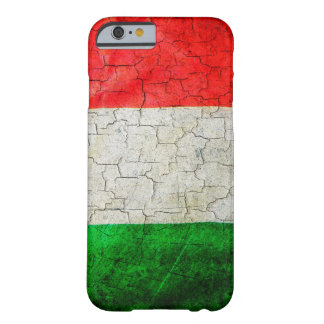Grunge Italy flag Barely There iPhone 6 Case
