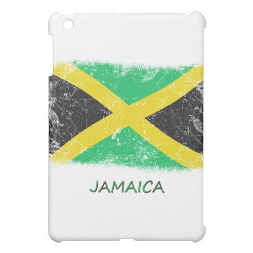 Grunge Jamaica Flag Case For The iPad Mini