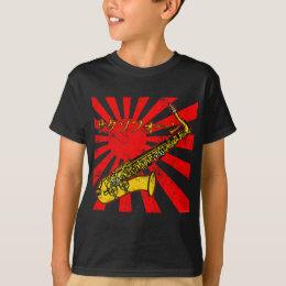 Grunge Japan Sax T-Shirt
