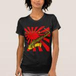 Grunge Japan Sax Tshirts