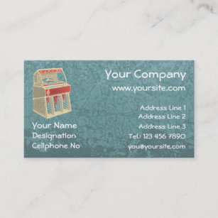 Jukebox business cards zazzle grunge jukebox business card colourmoves