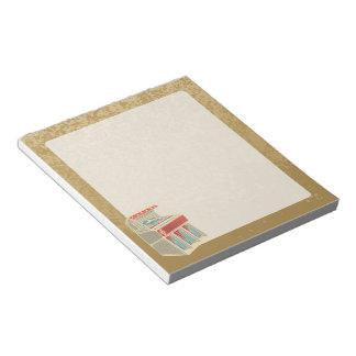 Grunge Jukebox Notepad
