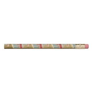 Grunge Jukebox Pencil