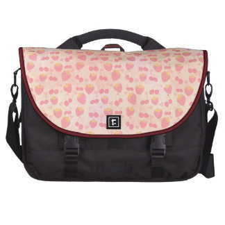 grunge Kawaii fruits strawberry cherry hand drawn Bags For Laptop