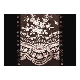 Grunge Lace Fabric Card