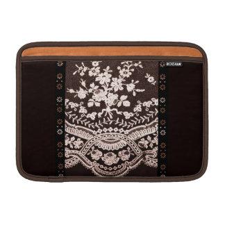 Grunge Lace Fabric MacBook Air Sleeve