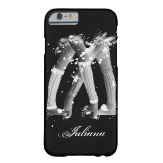 Grunge Leg Warmers on Black iPhone 6 case