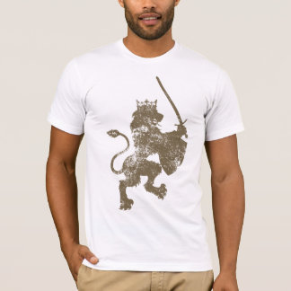 Grunge Lion King American Apparel Fitted T-Shirt
