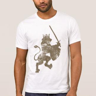 Grunge Lion King Men's Destroyed T-Shirt