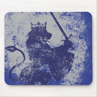 Grunge Lion King Mousepad