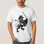 Grunge Lion King Value T-Shirt