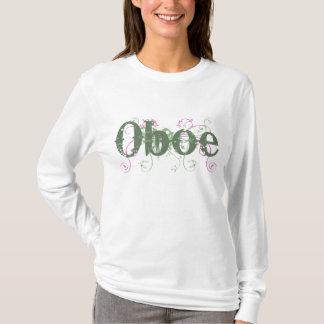 Grunge Look Oboe Womens T-shirt